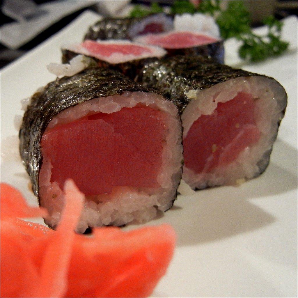 Sushi at Ginza